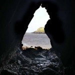 Caves on Hestan Island, Solway Firth